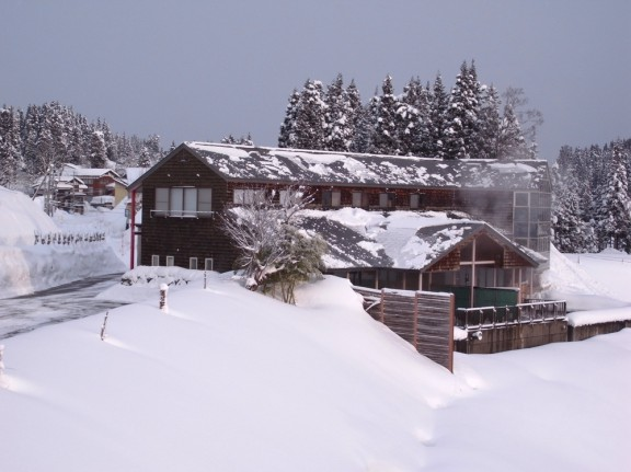 真冬のナステビュ湯の山(今年ではありません)