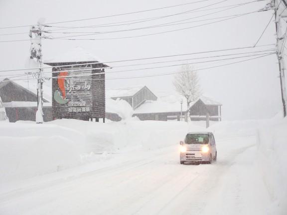 12月15日 凄い雪でした。