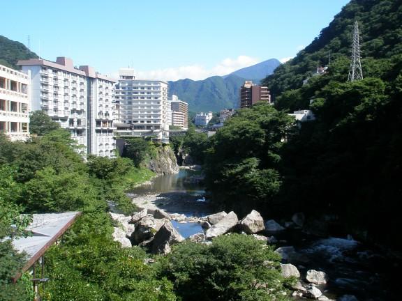 鬼怒川温泉のイメージはこんな感じですが・・・
